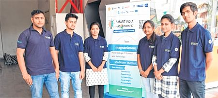 Bhopal: Patel Group students shine in Smart India Hackathon