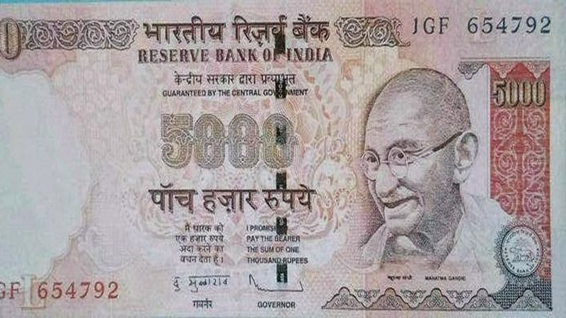 No plans to introduce Rs 5,000 and Rs 10,000 banknotes: Govt