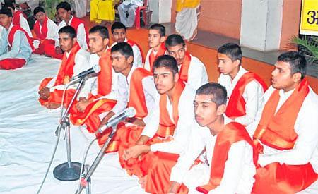 Ujjain Vikramotsav celebration: Ved Antyakshari held in Mahakal Temple