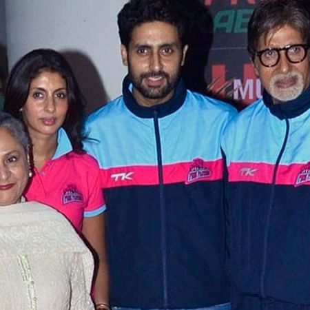 Big B to divide property equally between son Abhishek and daughter Shweta