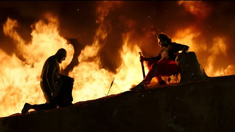 Baahubali 2 Trailer: Prabhas, Rana Daggubati gets a thumps up from celebs