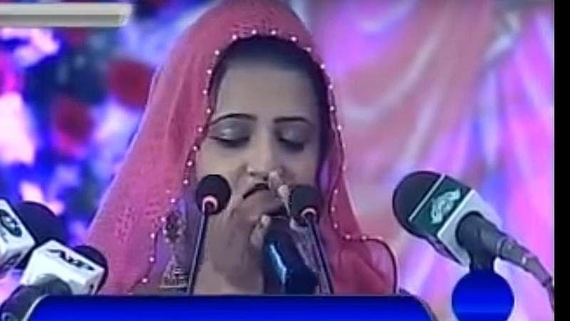 Narodha Malni's Gayatri Mantra recitation impressed Nawaz Sharif