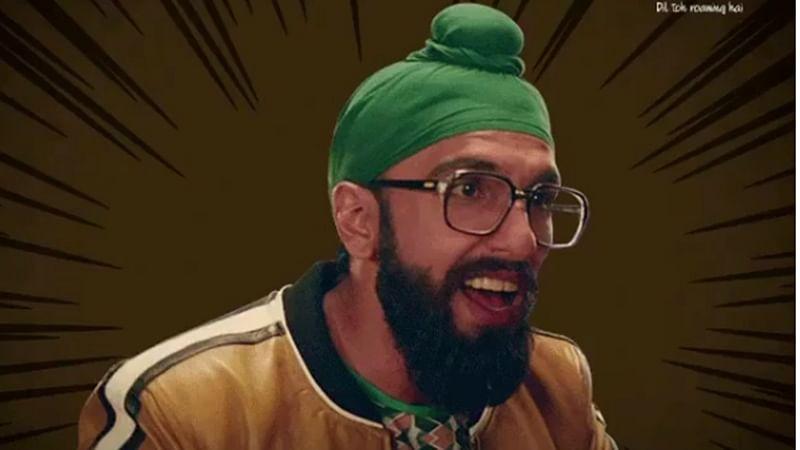 Ranveer Singh is unrecognizable in his Sardar look