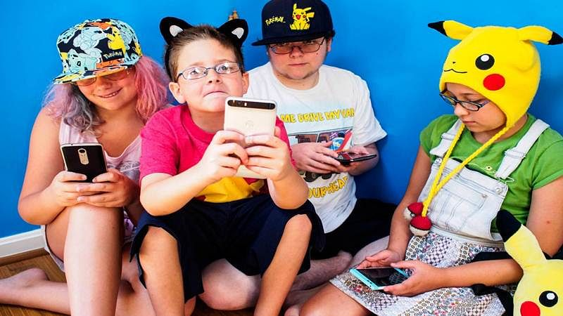 The game is on for parents! Are you a Poke Parent?