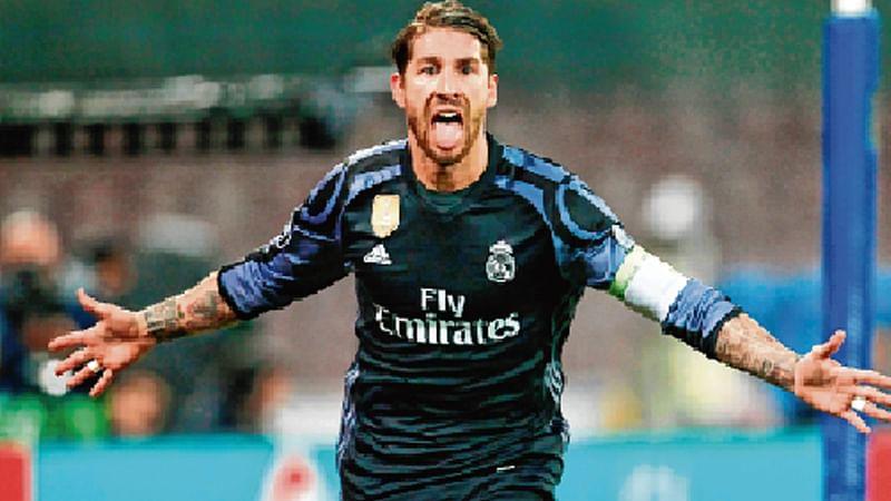 Ramos, Morata strike as Real crush Napoli