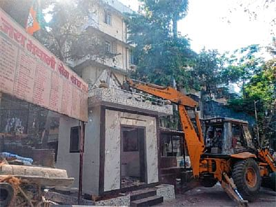BMC demolishes 103 illegal religious structures in the city