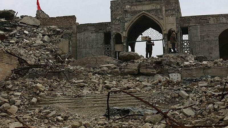 2,600 year-old palace found under damaged Mosul shrine