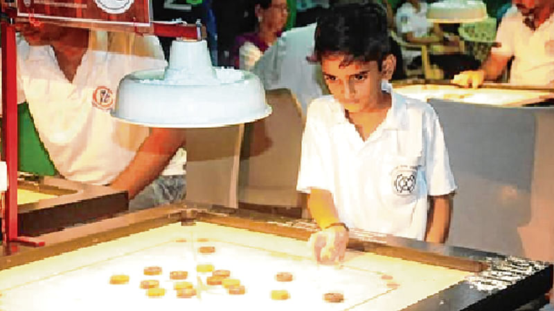 9-yr-old Nilansh Chiplunkar wins a thriller