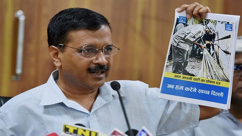 MCD Elections: AAP promises clean Delhi, corruption-free civic body