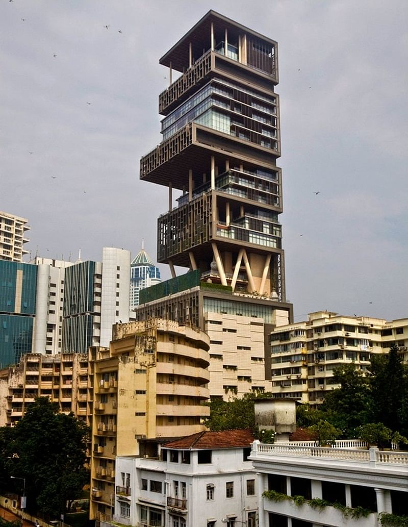 These photos of Mukesh Ambani's 'Antilia' will blow your mind away