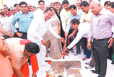 Indore: Bhoomi pujan for fire station at Sanwer Road industrial area held