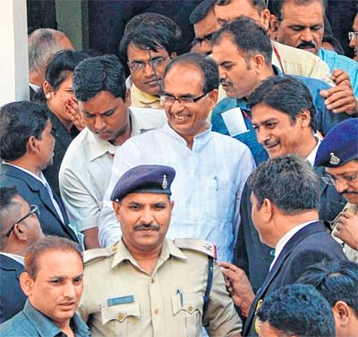 Bhopal: Chief Minister Shivraj Singh Chouhan appears in court in defamation case