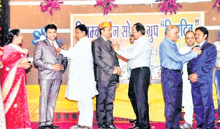 Ujjain: Oath-taking ceremony held by Digambar Jain Social group
