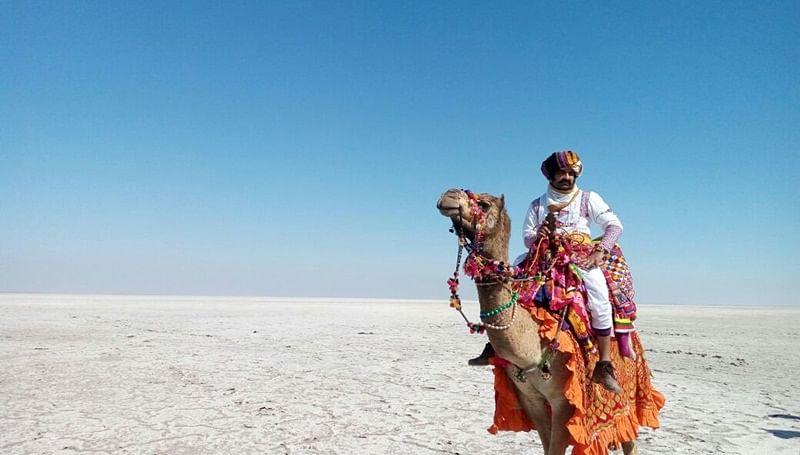 Yeh Moh Moh Ke Dhaage: Eijaz Khan shoots in the Rann of Kutch