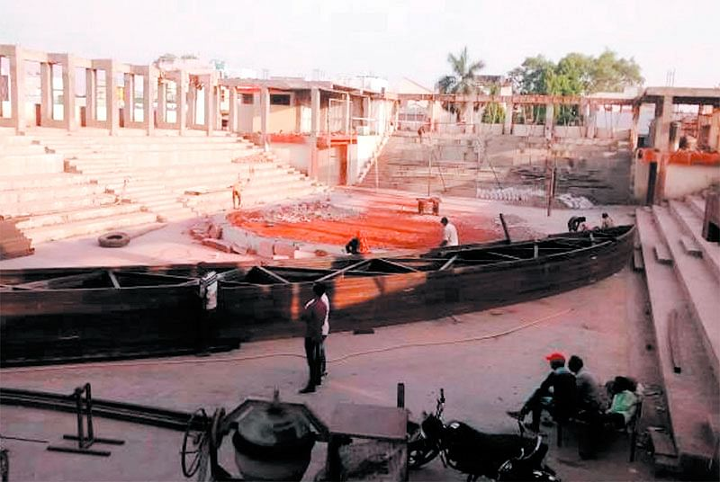 Ujjain: 10 years on first ever indoor stadium remains incomplete