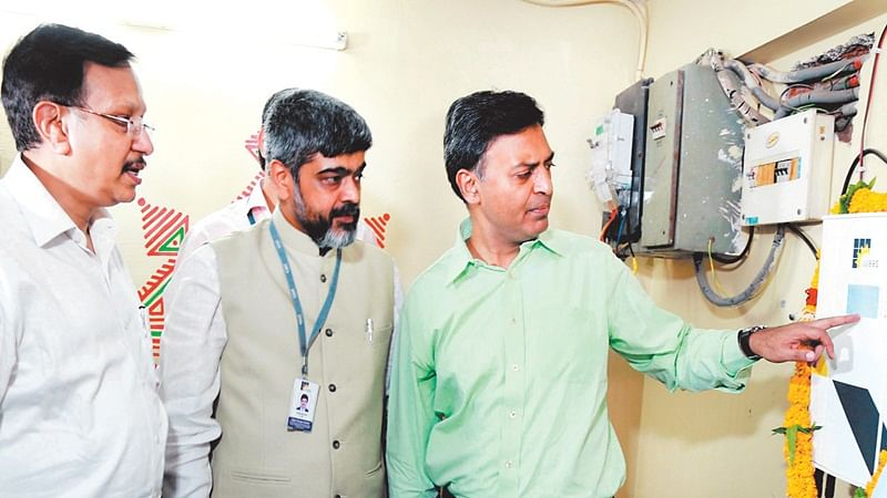 Indore: State's first rooftop solar plant with net metering inaugurated