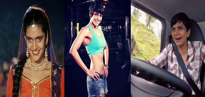 Birthday Special: From shy Preeti of 'DDLJ' to bindass woman, Mandira Bedi's transformation