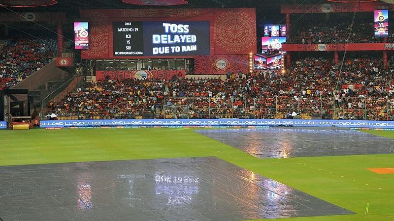 IPL 10: RCB-Sunrisers tie abandoned over persistent rain