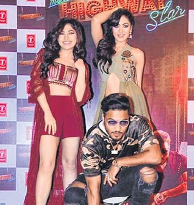 Kumar sisters sizzle with rapper Raftaar