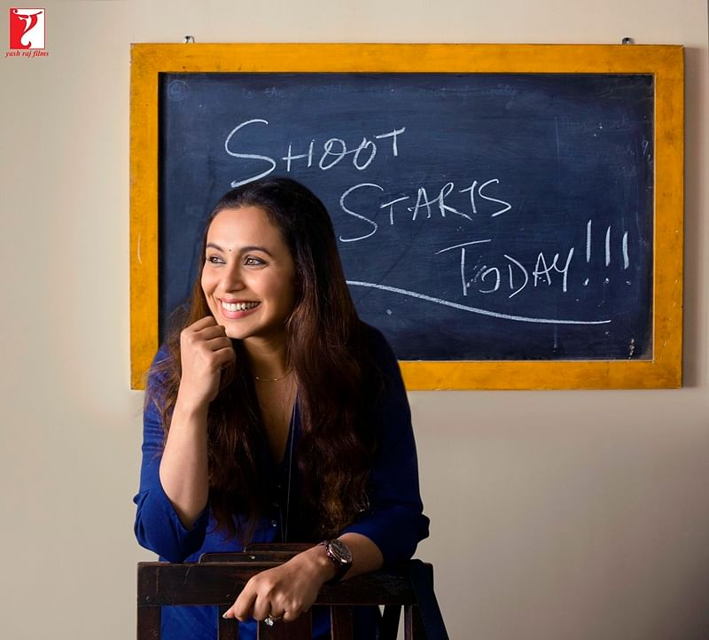 Watch as Rani Mukherji starts the shooting of Hichki with a preview video!