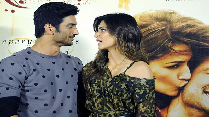 Full marks to Sushant, Kriti in chemistry!