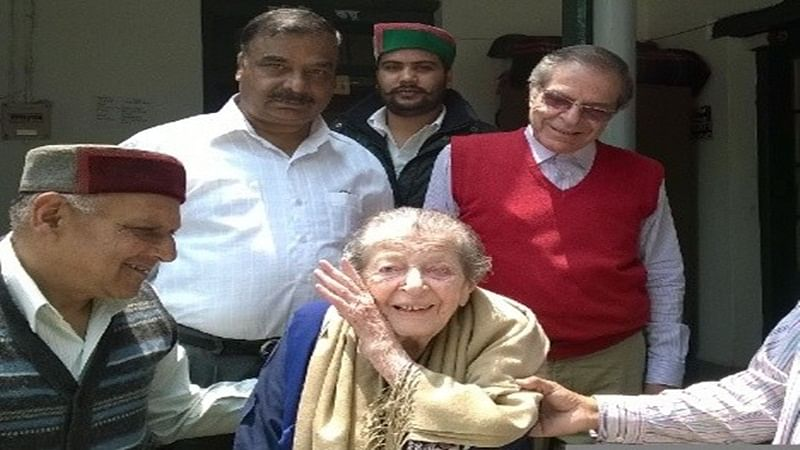 108-year-old wife of Jawaharlal Nehru's cousin dies