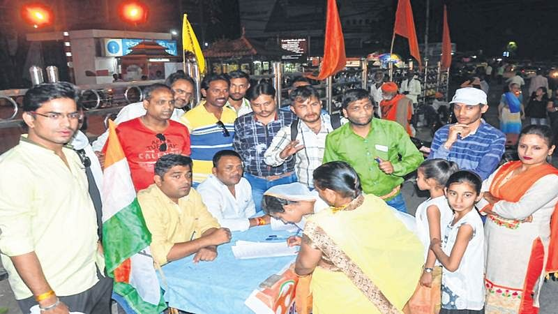Ujjain: Signature drive to oppose 'Bhasmaarti' charges