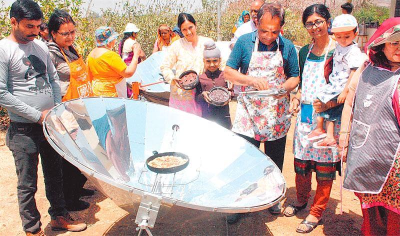 Indore : Jimmy memorial week begins with solar food festival