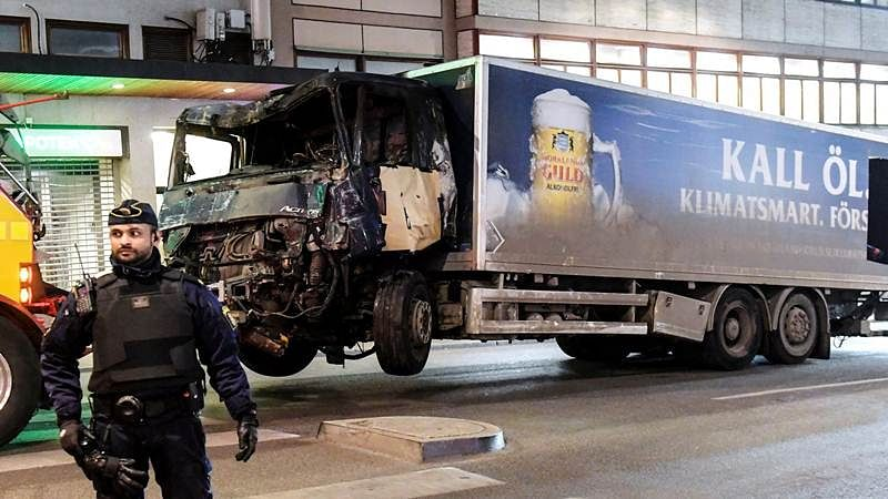 Stockholm truck attack suspect confesses to 'terrorist crime'