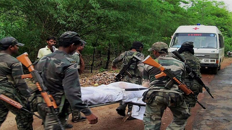 Chhattisgarh: Eight Naxals, two police personnel killed in encounter in Sukma district
