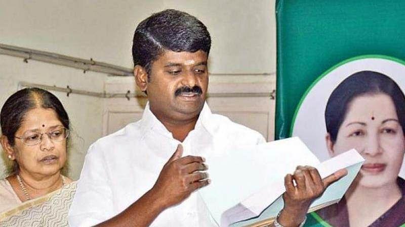 RK Nagar bypoll: I-T raids Tamil Nadu Health Minister, actor Sarathkumar's residence
