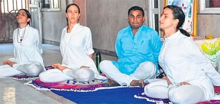 Ujjain: Tatri Yoga camp begins