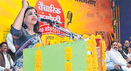 Bhopal: Triple talaq unconstitutional, says Shazia Ilmi