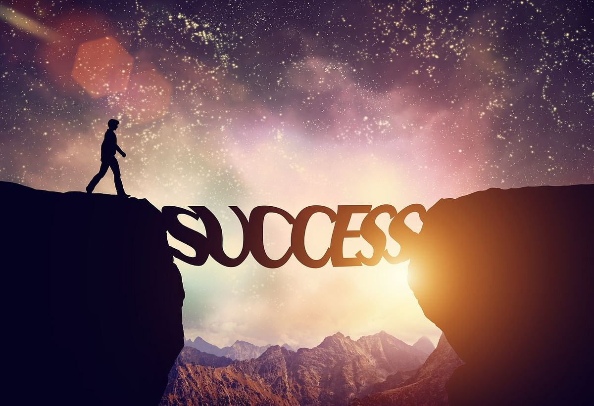 The correlation between talent and success