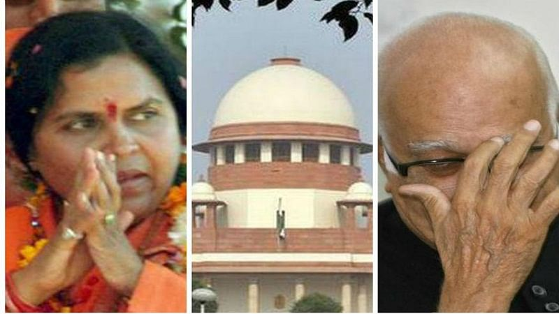 LK Advani and Uma Bharti assured of BJP's support in Babri case