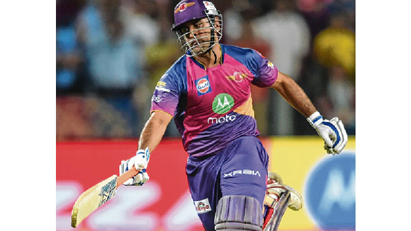 Magnificent Supergiant  : Hyderabad tamed by a special vintage Dhoni innings