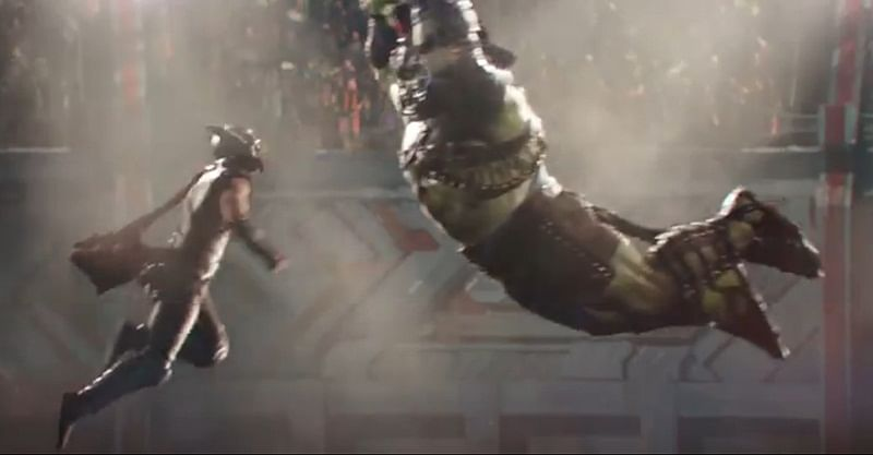 Watch Thor and Hulk face-off in first 'Thor: Ragnarok' trailer