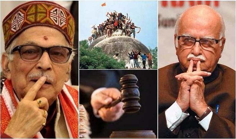 Babri Masjid case: CBI court frames 'criminal conspiracy' charges against Advani, Joshi and Uma