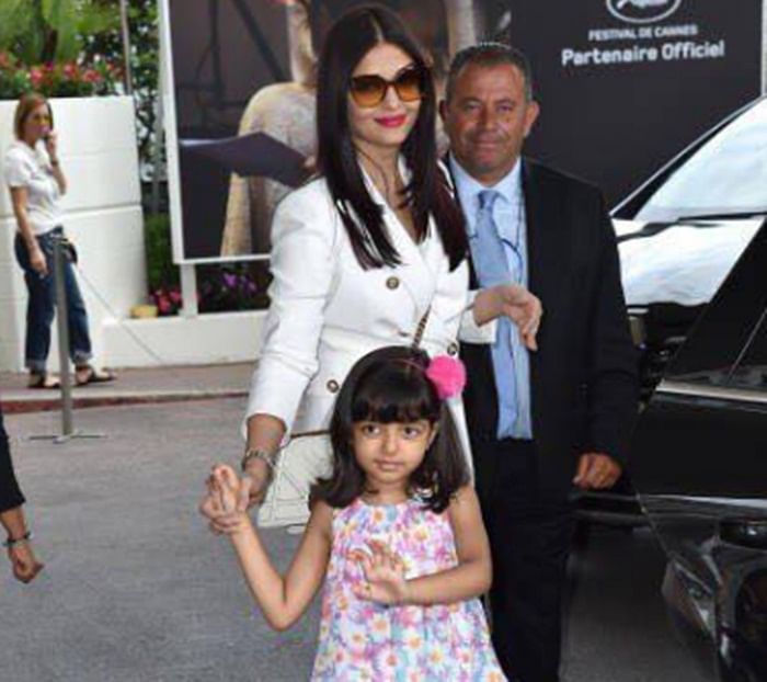 Cannes 2017: Aishwarya and Aaradhya have fun in France