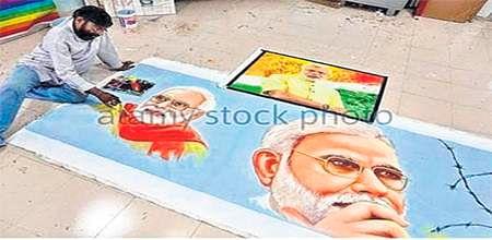 Bhopal: Eminent artist Saini eyeing another world record