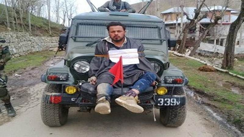 Civilian, who was tied to army jeep, files complaint against Major Gogoi