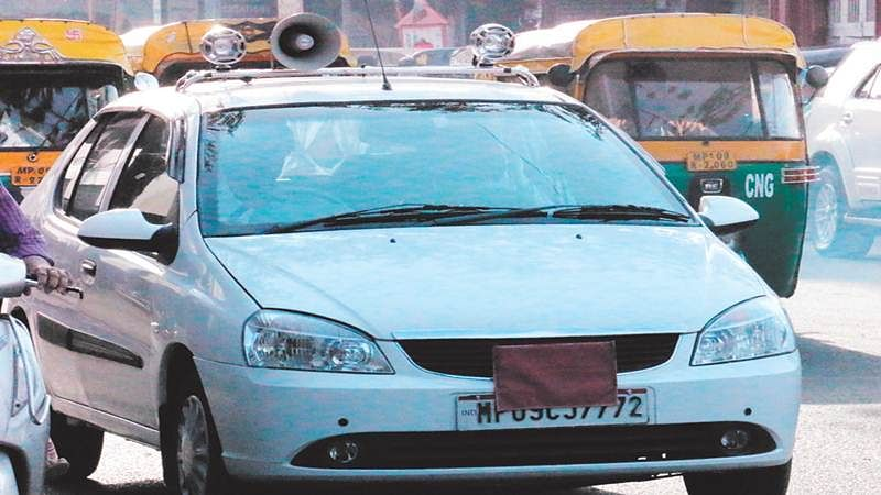 Indore: RTO continues silence on illegal use of hooter
