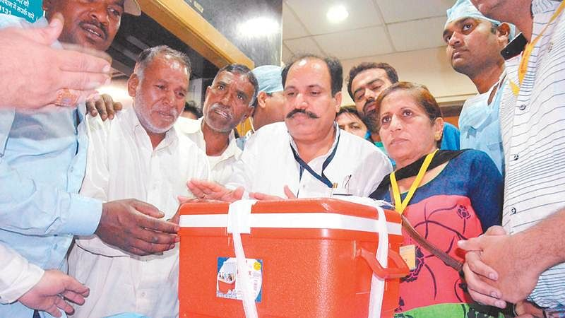 Indore: 23-year-old gives new lease of life to three