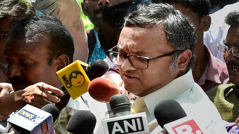 Karti Chidambaram moves Madras HC asking if any lookout notice issued against him