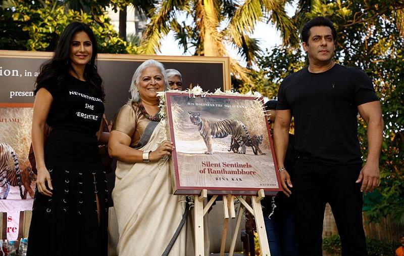 Salman Khan and Katrina Kaif dazzle at book launch in Mumbai