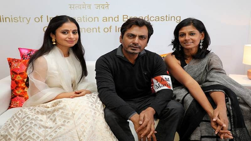 Nawazuddin Siddiqui, Nandita Das present their film Manto at Cannes 2017