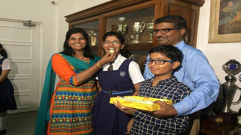 Pune: Muskan national topper of the ICSE never missed IPLon television