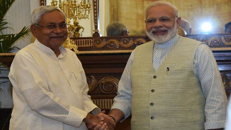 Nitish Kumar meets PM Modi, day after skipping Sonia Gandhi's meet