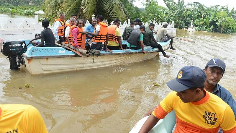 Indian Navy, medical teams join Sri Lanka flood rescue operations; death toll reaches 193