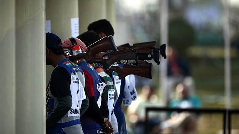 Indian shooting team detained at New Delhi Airport